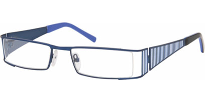 Semi Rimless Glasses 429 --> Blue