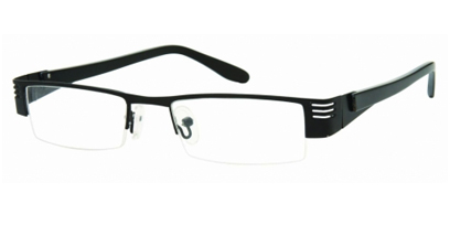 Semi Rimless Glasses 450 --> Black