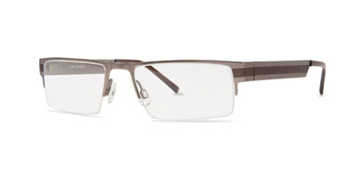 X-Eyes Designer Glasses X-EYES 2008 Ti (Titanium) --> Brown