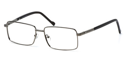 Cheap Glasses - Diplomat --> Gun Metal
