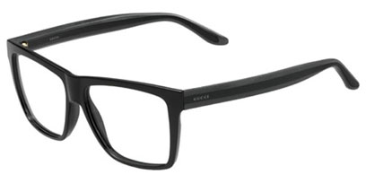Gucci Designer Glasses GG 1008 52R --> Black Gray