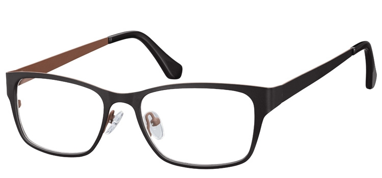 Cheap Glasses 628 --> Black  Brown